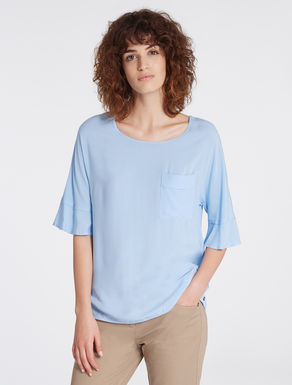 Floaty fabric blouse