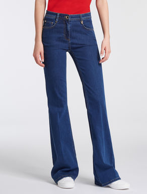 Jeans kick flare fit super stretch