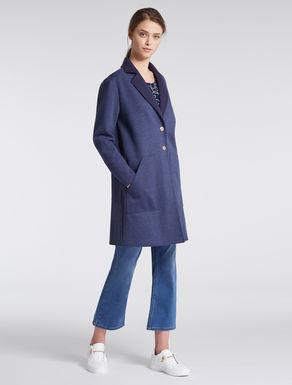 Matching jersey overcoat