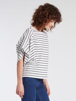 Cotton jersey kimono T-shirt