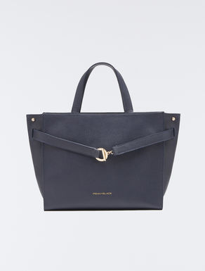 Tote bag with ring and bar