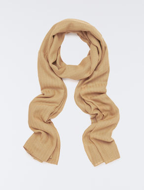 Jacquard fabric scarf