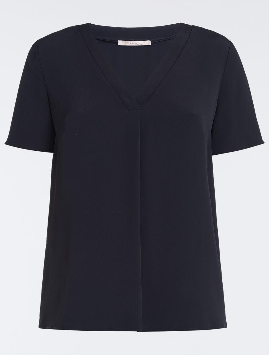 38cd95173c43a Crêpe de Chine blouse