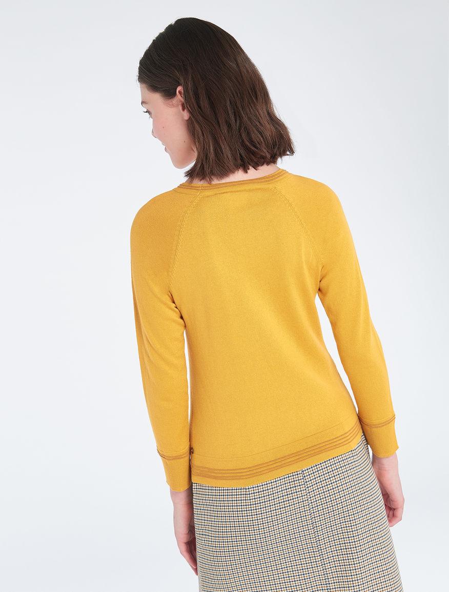 14a093da0c6f Slim cotton silk sweater