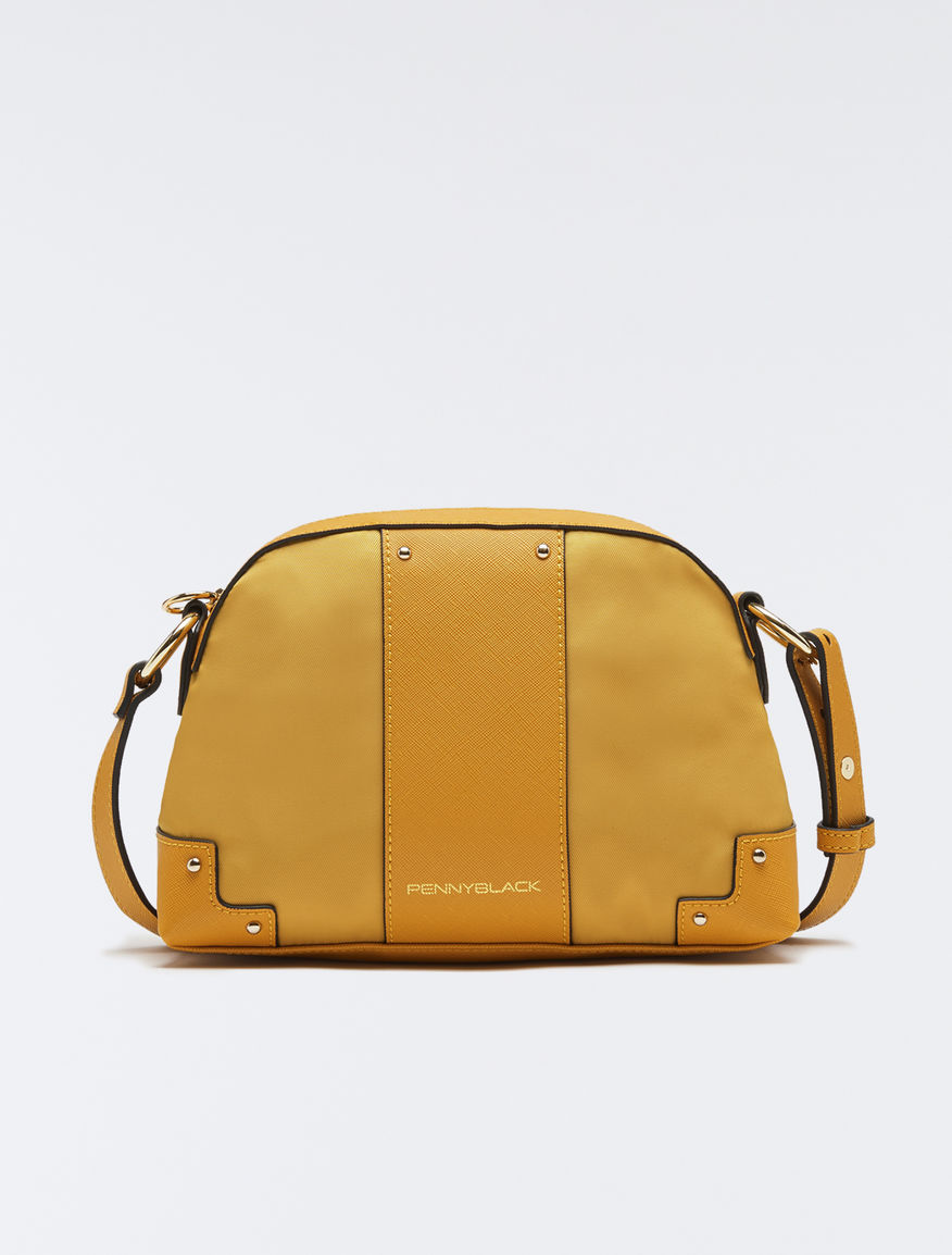 433f49ac3ae Techno-fabric shoulder bag, sunshine yellow -