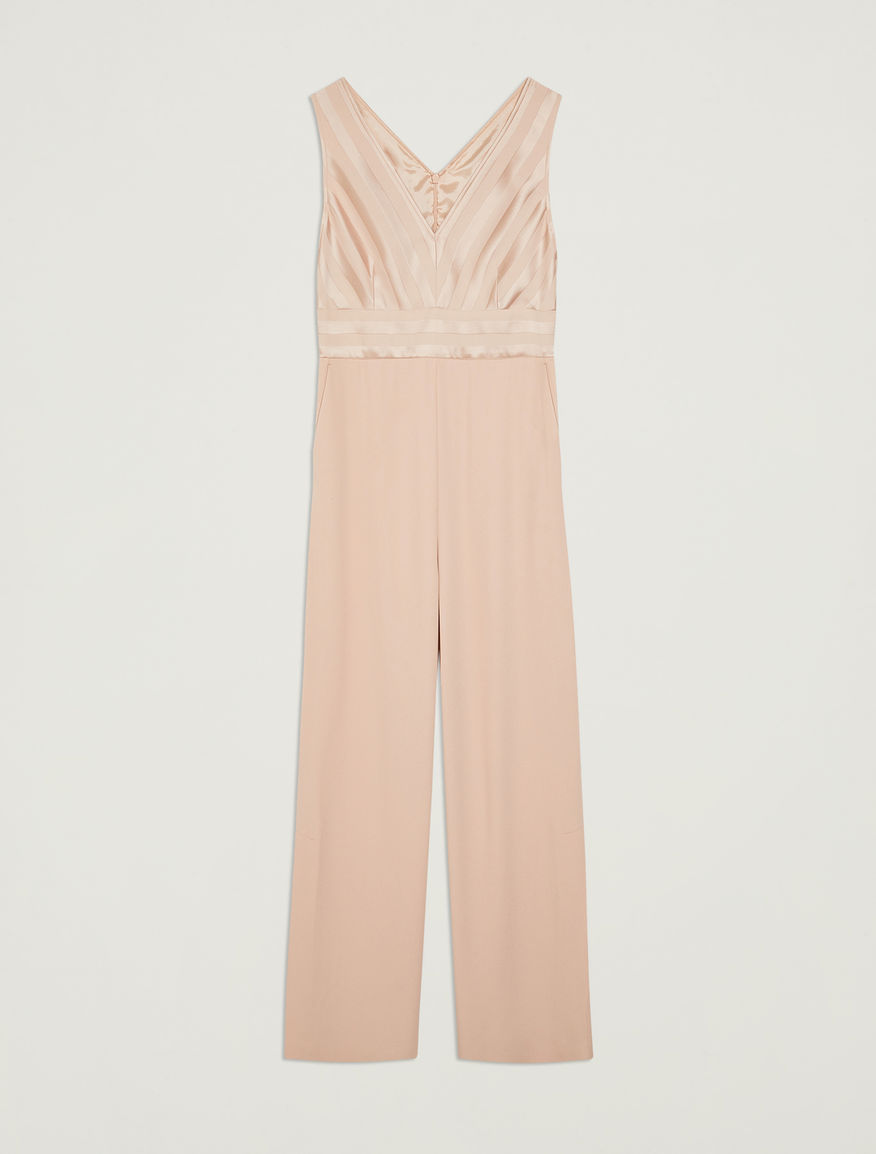 d70e7fdcb0a3 Palazzo jumpsuit with shiny stripes
