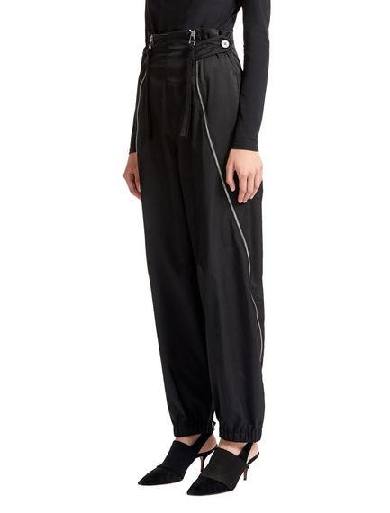 Zip-detail Jogging Trousers