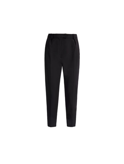 Technical Fabric Tapered Trousers