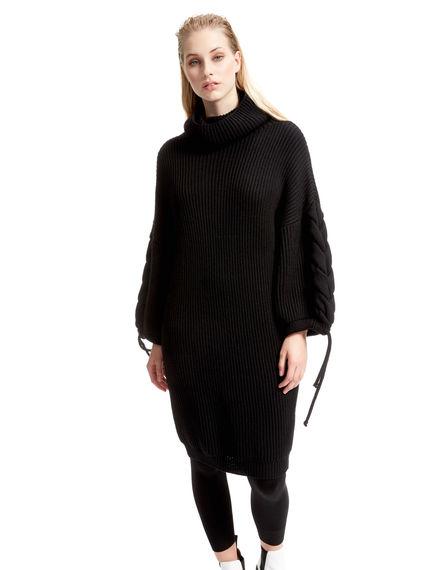 Rib-knit Wool Maxi Top