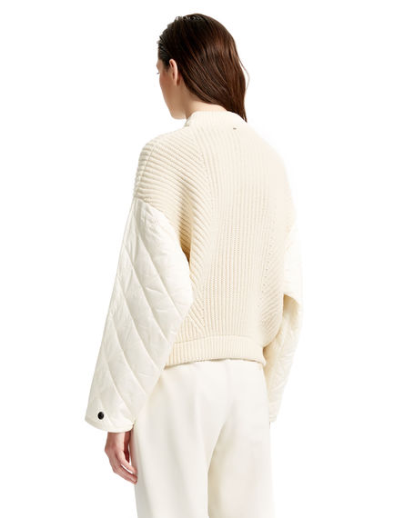 Quilt & Knit Sweater Sportmax