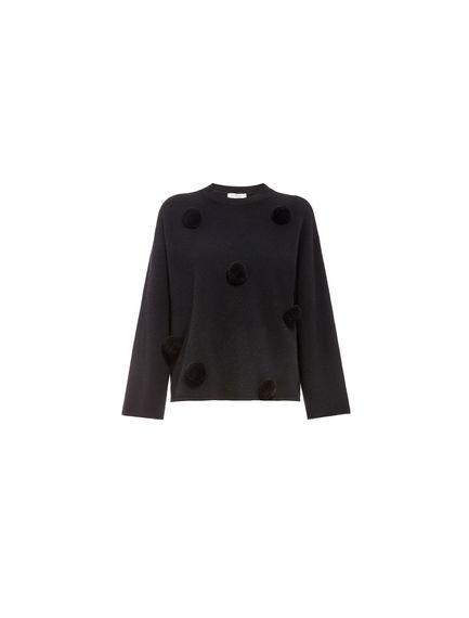 Pompom Wool Sweater
