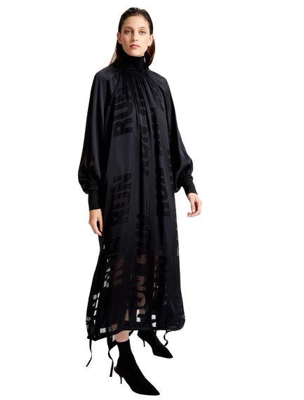 Devorè Satin Run Dress