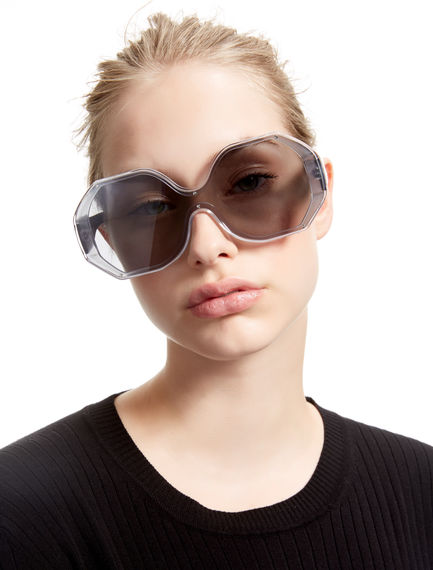 Octagonal Flat Screen Sunglasses Sportmax