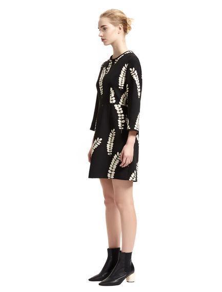 Sprig Print Tailored Dress