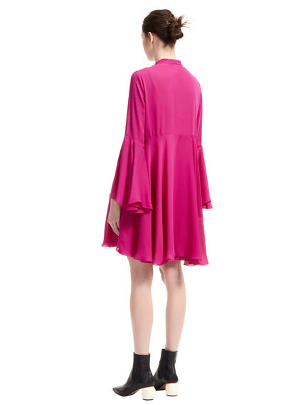Flowing Georgette Mini Dress