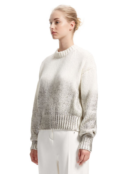 Metallic Degradé Sweater