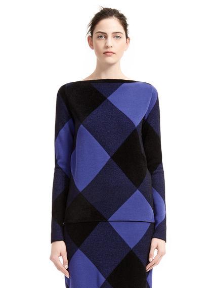 Rhombus Design Sweater