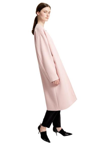 Reversible Angora Wool Cocoon Coat Sportmax