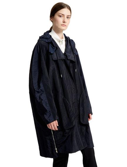 Kimono-sleeve Transforming Raincoat Sportmax