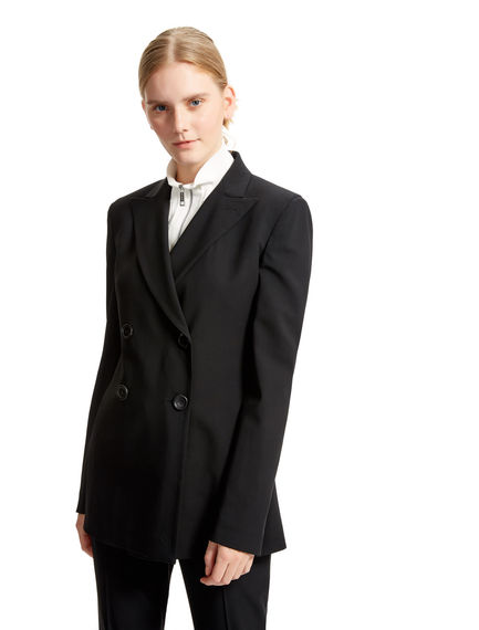 Black Double-breasted Blazer Sportmax