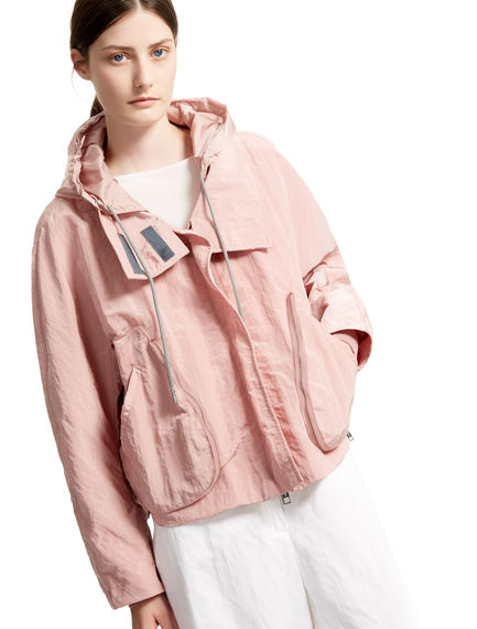 Pink Cropped Parka Sportmax