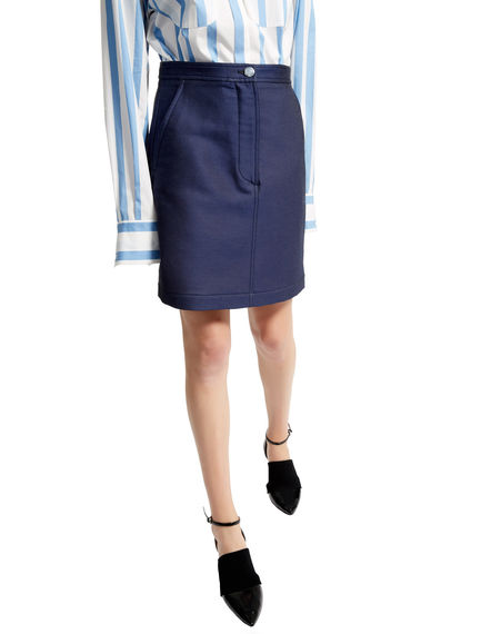 Indigo Short Skirt Sportmax