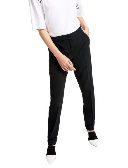 Crease-leg Cigarette Trousers Sportmax