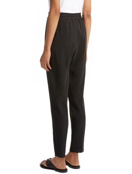 Tailored Viscose Jogging Trousers