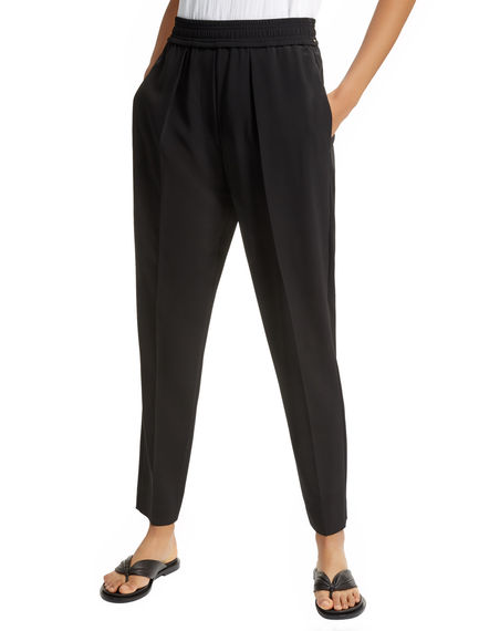 Tailored Viscose Jogging Trousers Sportmax