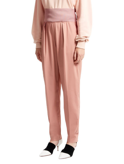 Gabardine Jogging Trousers