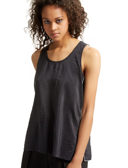 Overlaid Silk Vest Top Sportmax