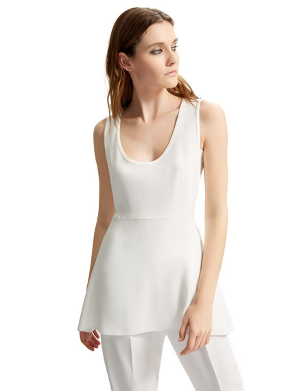 Asymmetric Viscose Vest Top Sportmax