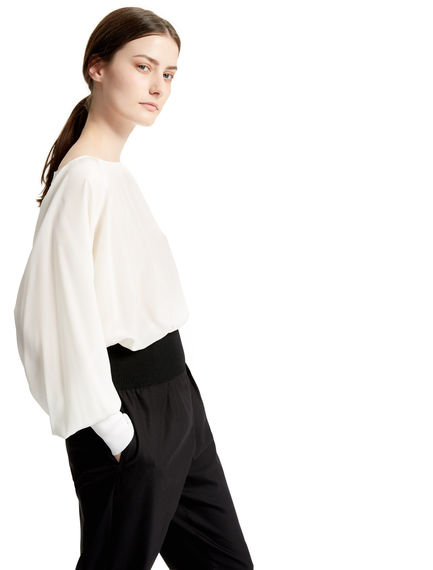 Billowing Silk Blouse Sportmax