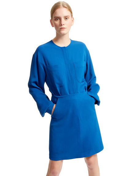 Dynamic Trompe L'oeil Dress Sportmax