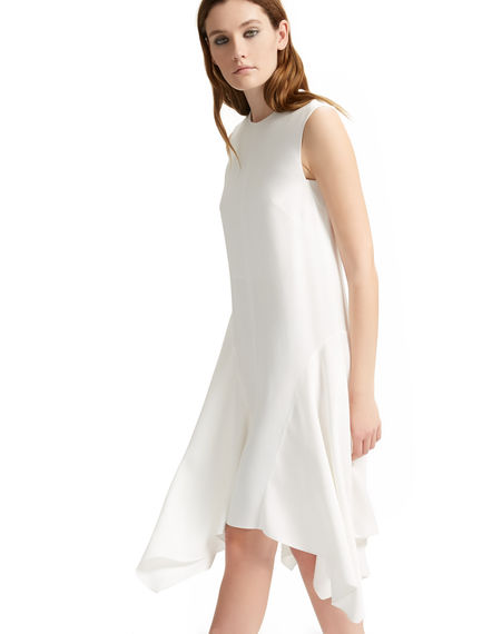 Asymmetric Hem Viscose Dress Sportmax