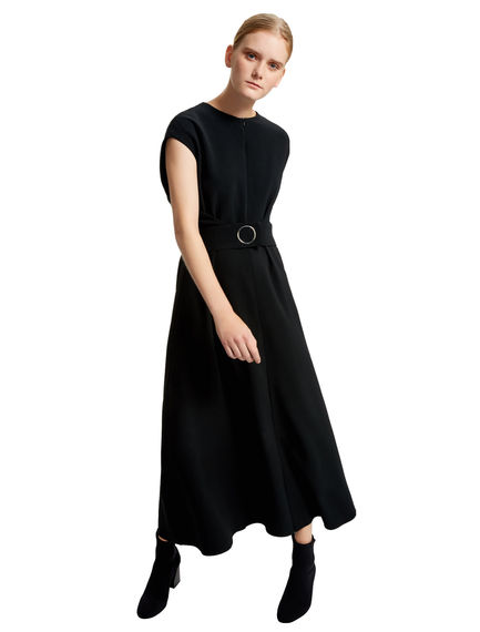 Longline Reverse-wrap Dress Sportmax