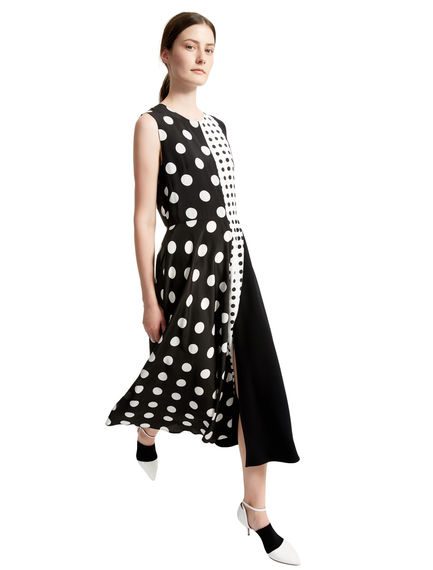 Polka Dot Fusion Dress Sportmax