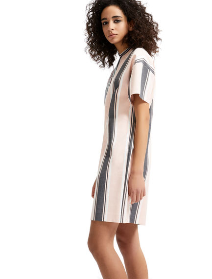 One-of-a-kind Striped T-shirt Dress Sportmax