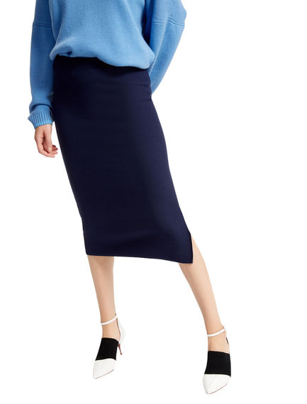Honeycomb Stitch Tube Skirt Sportmax