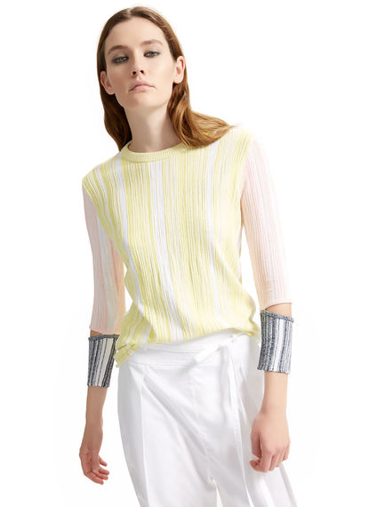 Colour Blocked Deconstructed Top Sportmax