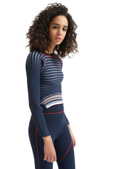 Knitted Cutaway Back Sweater Sportmax