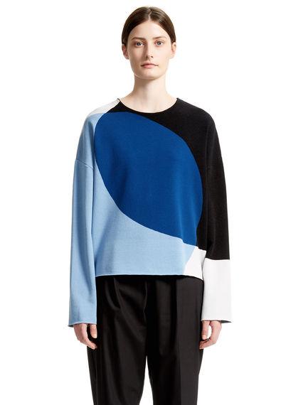 Graphic Jacquard Sweater