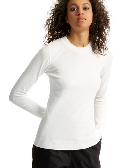 Fitted Viscose Sweater Sportmax