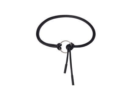 Hooped Nappa Leather Belt