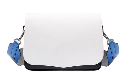White Colour-block Bag Sportmax