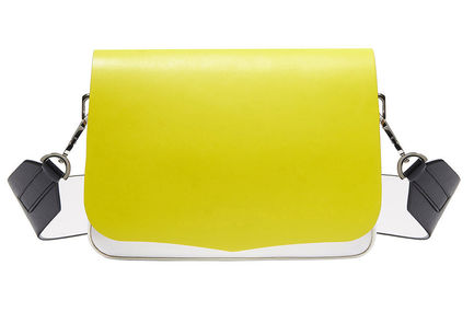 Yellow Colour-block Bag Sportmax