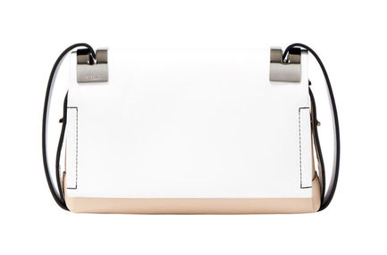 White Colour-block SM 207 Bag Sportmax
