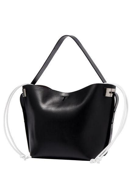 Two-tone Black 207 Tote Bag