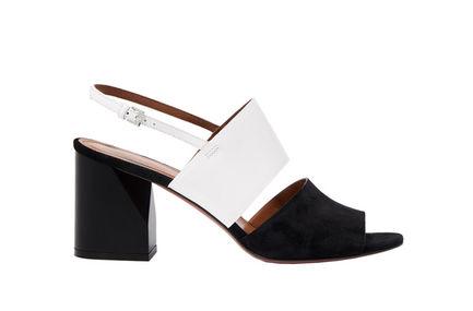 Contrast-texture Heeled Sandals Sportmax
