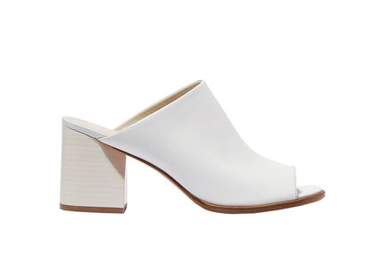 Heeled Leather Mules Sportmax